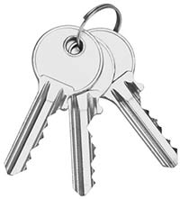 Your Emergency Locksmith Bristol provides 3 new keys with all locks